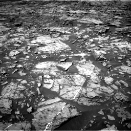 Nasa's Mars rover Curiosity acquired this image using its Right Navigation Camera on Sol 1185, at drive 1730, site number 51