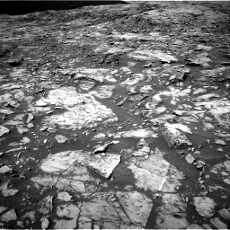 Nasa's Mars rover Curiosity acquired this image using its Right Navigation Camera on Sol 1185, at drive 1736, site number 51