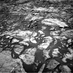 Nasa's Mars rover Curiosity acquired this image using its Right Navigation Camera on Sol 1185, at drive 1760, site number 51