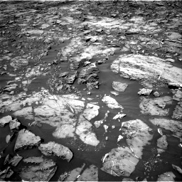 Nasa's Mars rover Curiosity acquired this image using its Right Navigation Camera on Sol 1185, at drive 1766, site number 51