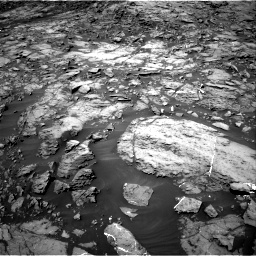 Nasa's Mars rover Curiosity acquired this image using its Right Navigation Camera on Sol 1185, at drive 1778, site number 51