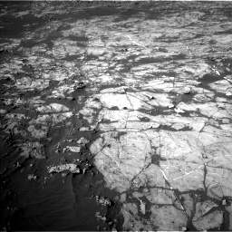 Nasa's Mars rover Curiosity acquired this image using its Left Navigation Camera on Sol 1187, at drive 1860, site number 51