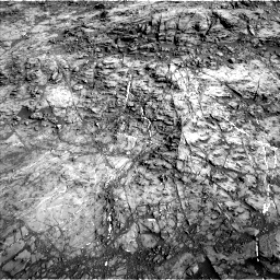 Nasa's Mars rover Curiosity acquired this image using its Left Navigation Camera on Sol 1187, at drive 1980, site number 51