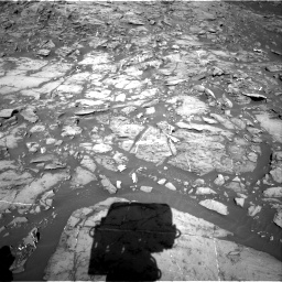 Nasa's Mars rover Curiosity acquired this image using its Right Navigation Camera on Sol 1187, at drive 1800, site number 51