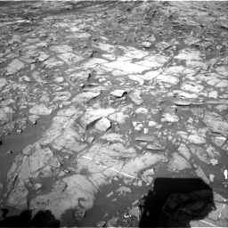 Nasa's Mars rover Curiosity acquired this image using its Right Navigation Camera on Sol 1187, at drive 1806, site number 51