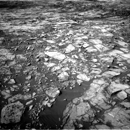 Nasa's Mars rover Curiosity acquired this image using its Right Navigation Camera on Sol 1187, at drive 1812, site number 51