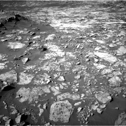 Nasa's Mars rover Curiosity acquired this image using its Right Navigation Camera on Sol 1187, at drive 1818, site number 51