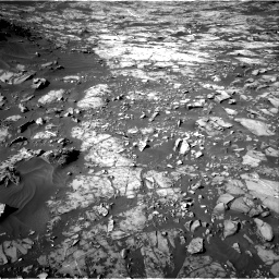 Nasa's Mars rover Curiosity acquired this image using its Right Navigation Camera on Sol 1187, at drive 1830, site number 51