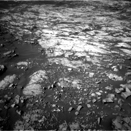 Nasa's Mars rover Curiosity acquired this image using its Right Navigation Camera on Sol 1187, at drive 1842, site number 51
