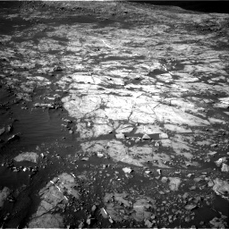 Nasa's Mars rover Curiosity acquired this image using its Right Navigation Camera on Sol 1187, at drive 1848, site number 51