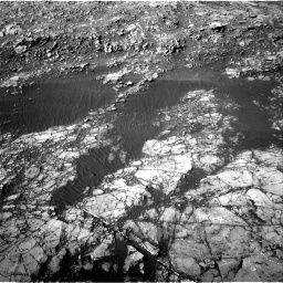 Nasa's Mars rover Curiosity acquired this image using its Right Navigation Camera on Sol 1187, at drive 1932, site number 51