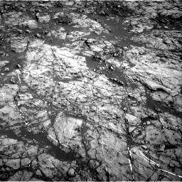Nasa's Mars rover Curiosity acquired this image using its Right Navigation Camera on Sol 1187, at drive 1944, site number 51