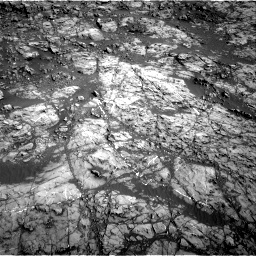 Nasa's Mars rover Curiosity acquired this image using its Right Navigation Camera on Sol 1187, at drive 1950, site number 51