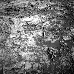 Nasa's Mars rover Curiosity acquired this image using its Right Navigation Camera on Sol 1187, at drive 1974, site number 51