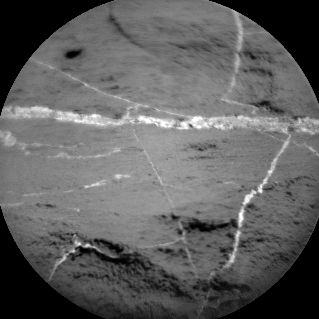 Nasa's Mars rover Curiosity acquired this image using its Chemistry & Camera (ChemCam) on Sol 1187, at drive 1800, site number 51