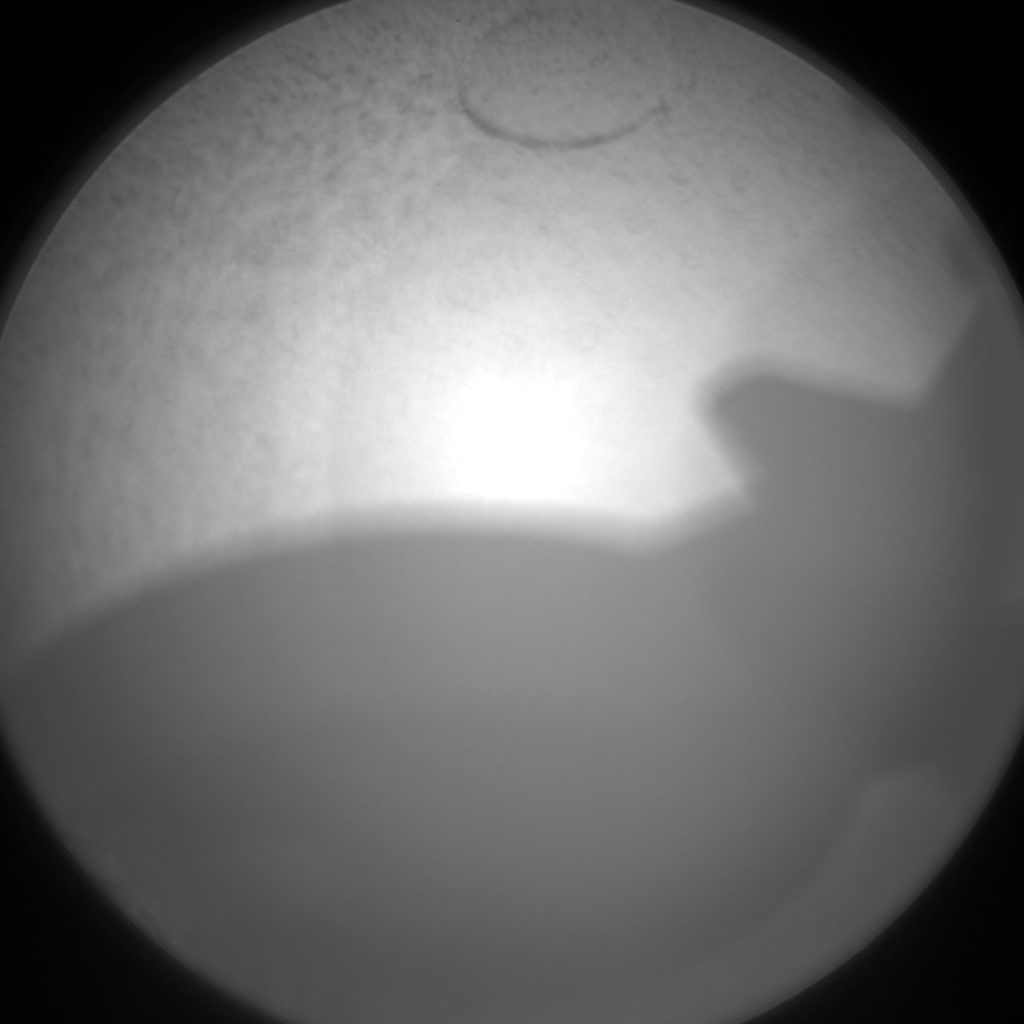 Nasa's Mars rover Curiosity acquired this image using its Chemistry & Camera (ChemCam) on Sol 1188, at drive 2004, site number 51