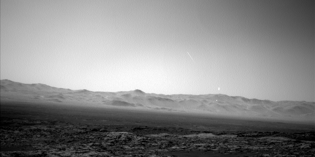 Nasa's Mars rover Curiosity acquired this image using its Left Navigation Camera on Sol 1188, at drive 2004, site number 51