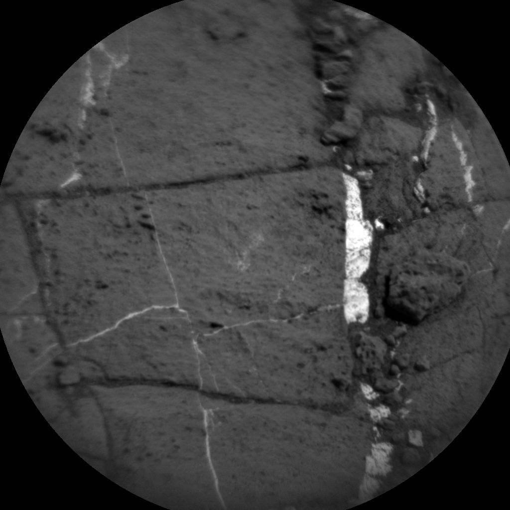 Nasa's Mars rover Curiosity acquired this image using its Chemistry & Camera (ChemCam) on Sol 1189, at drive 2004, site number 51