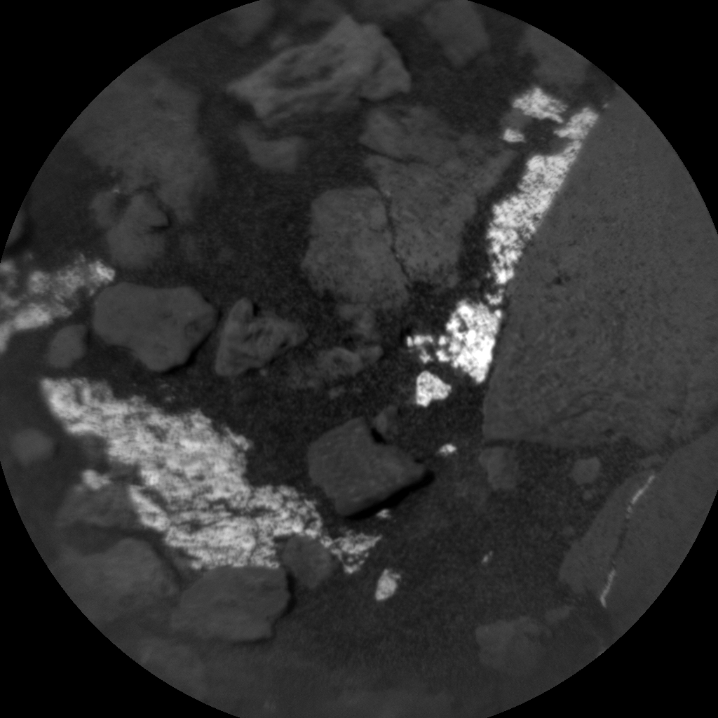 Nasa's Mars rover Curiosity acquired this image using its Chemistry & Camera (ChemCam) on Sol 1191, at drive 2004, site number 51