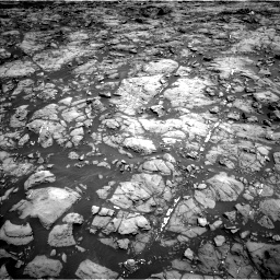 Nasa's Mars rover Curiosity acquired this image using its Left Navigation Camera on Sol 1192, at drive 2070, site number 51