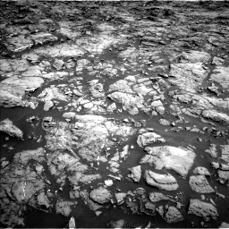 Nasa's Mars rover Curiosity acquired this image using its Left Navigation Camera on Sol 1192, at drive 2082, site number 51