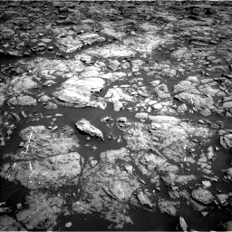 Nasa's Mars rover Curiosity acquired this image using its Left Navigation Camera on Sol 1192, at drive 2088, site number 51