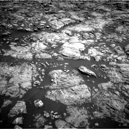 Nasa's Mars rover Curiosity acquired this image using its Left Navigation Camera on Sol 1192, at drive 2094, site number 51