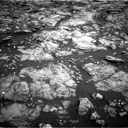Nasa's Mars rover Curiosity acquired this image using its Left Navigation Camera on Sol 1192, at drive 2112, site number 51