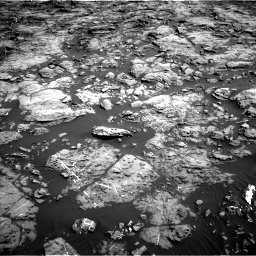Nasa's Mars rover Curiosity acquired this image using its Left Navigation Camera on Sol 1192, at drive 2124, site number 51