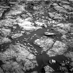 Nasa's Mars rover Curiosity acquired this image using its Left Navigation Camera on Sol 1192, at drive 2130, site number 51