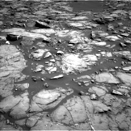 Nasa's Mars rover Curiosity acquired this image using its Left Navigation Camera on Sol 1192, at drive 2226, site number 51