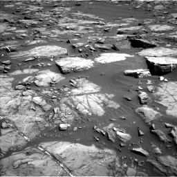 Nasa's Mars rover Curiosity acquired this image using its Left Navigation Camera on Sol 1192, at drive 2274, site number 51