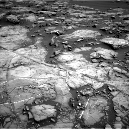 Nasa's Mars rover Curiosity acquired this image using its Left Navigation Camera on Sol 1192, at drive 2292, site number 51