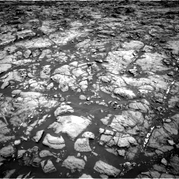 Nasa's Mars rover Curiosity acquired this image using its Right Navigation Camera on Sol 1192, at drive 2076, site number 51