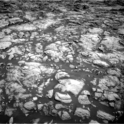 Nasa's Mars rover Curiosity acquired this image using its Right Navigation Camera on Sol 1192, at drive 2082, site number 51