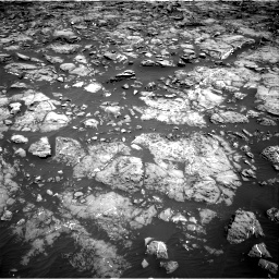 Nasa's Mars rover Curiosity acquired this image using its Right Navigation Camera on Sol 1192, at drive 2106, site number 51