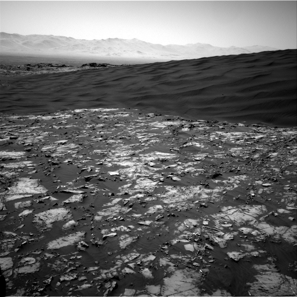 NASA's Mars rover Curiosity acquired this image using its Right Navigation Cameras (Navcams) on Sol 1192