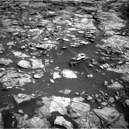 Nasa's Mars rover Curiosity acquired this image using its Right Navigation Camera on Sol 1192, at drive 2154, site number 51