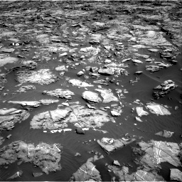 Nasa's Mars rover Curiosity acquired this image using its Right Navigation Camera on Sol 1192, at drive 2160, site number 51