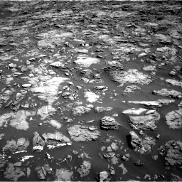 Nasa's Mars rover Curiosity acquired this image using its Right Navigation Camera on Sol 1192, at drive 2172, site number 51