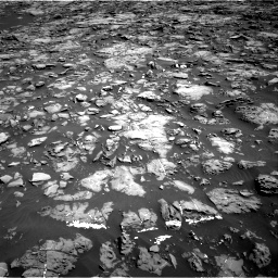 Nasa's Mars rover Curiosity acquired this image using its Right Navigation Camera on Sol 1192, at drive 2178, site number 51