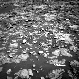 Nasa's Mars rover Curiosity acquired this image using its Right Navigation Camera on Sol 1192, at drive 2184, site number 51