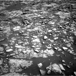 Nasa's Mars rover Curiosity acquired this image using its Right Navigation Camera on Sol 1192, at drive 2190, site number 51