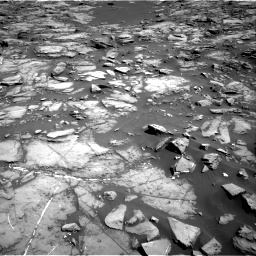 Nasa's Mars rover Curiosity acquired this image using its Right Navigation Camera on Sol 1192, at drive 2214, site number 51
