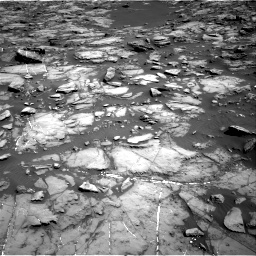 Nasa's Mars rover Curiosity acquired this image using its Right Navigation Camera on Sol 1192, at drive 2220, site number 51