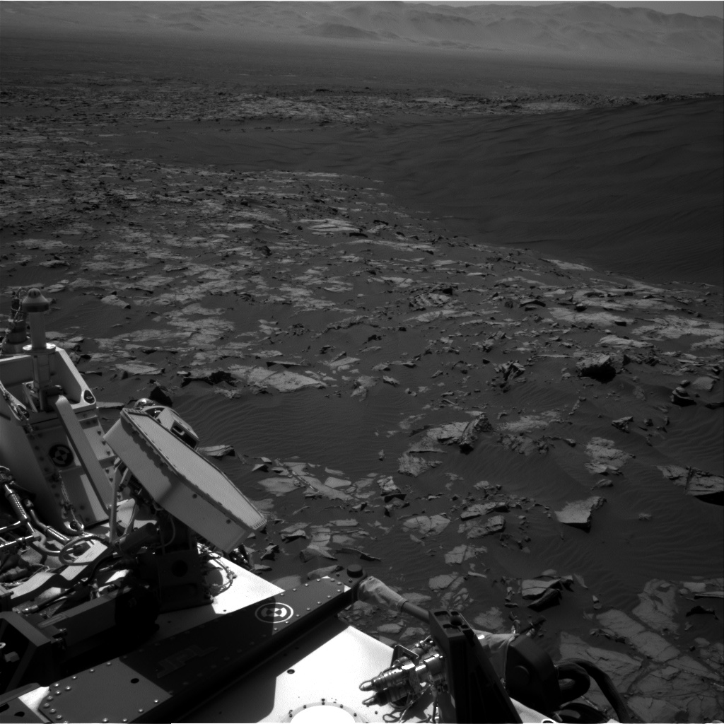 Nasa's Mars rover Curiosity acquired this image using its Right Navigation Camera on Sol 1192, at drive 2238, site number 51