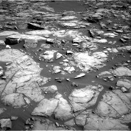 Nasa's Mars rover Curiosity acquired this image using its Right Navigation Camera on Sol 1192, at drive 2244, site number 51