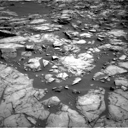 Nasa's Mars rover Curiosity acquired this image using its Right Navigation Camera on Sol 1192, at drive 2256, site number 51