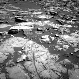 Nasa's Mars rover Curiosity acquired this image using its Right Navigation Camera on Sol 1192, at drive 2262, site number 51