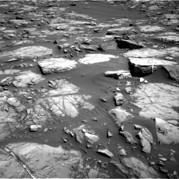 Nasa's Mars rover Curiosity acquired this image using its Right Navigation Camera on Sol 1192, at drive 2274, site number 51
